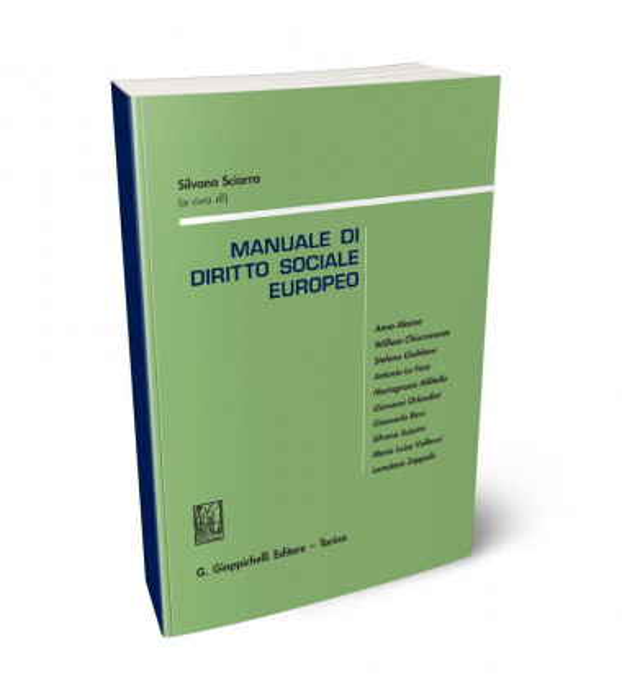 Manuale di diritto sociale europeo