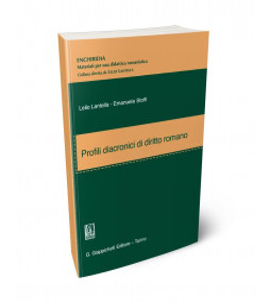 Profili diacronici di diritto romano