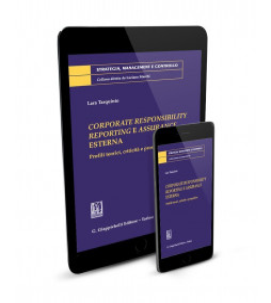 Corporate Responsibility Reporting e Assurance Esterna