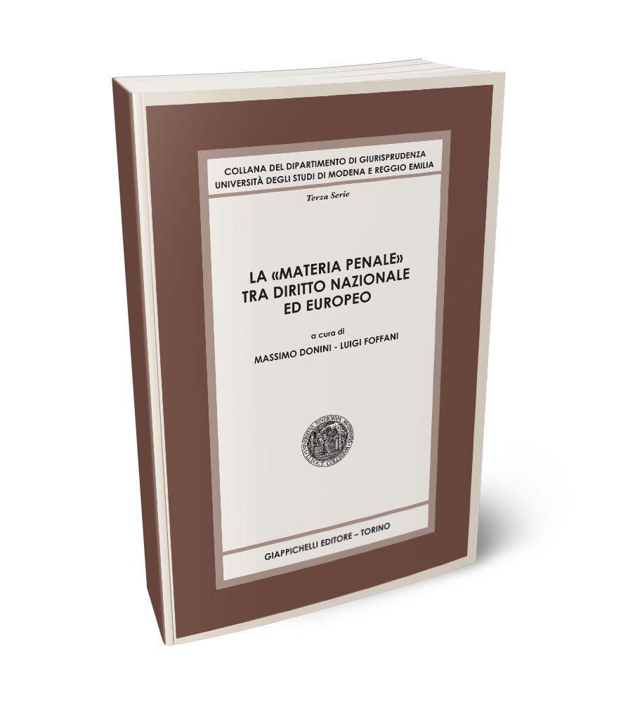 Collana del Dipartimento di Giurisprudenza - Università degli Studi di Modena e Reggio Emilia