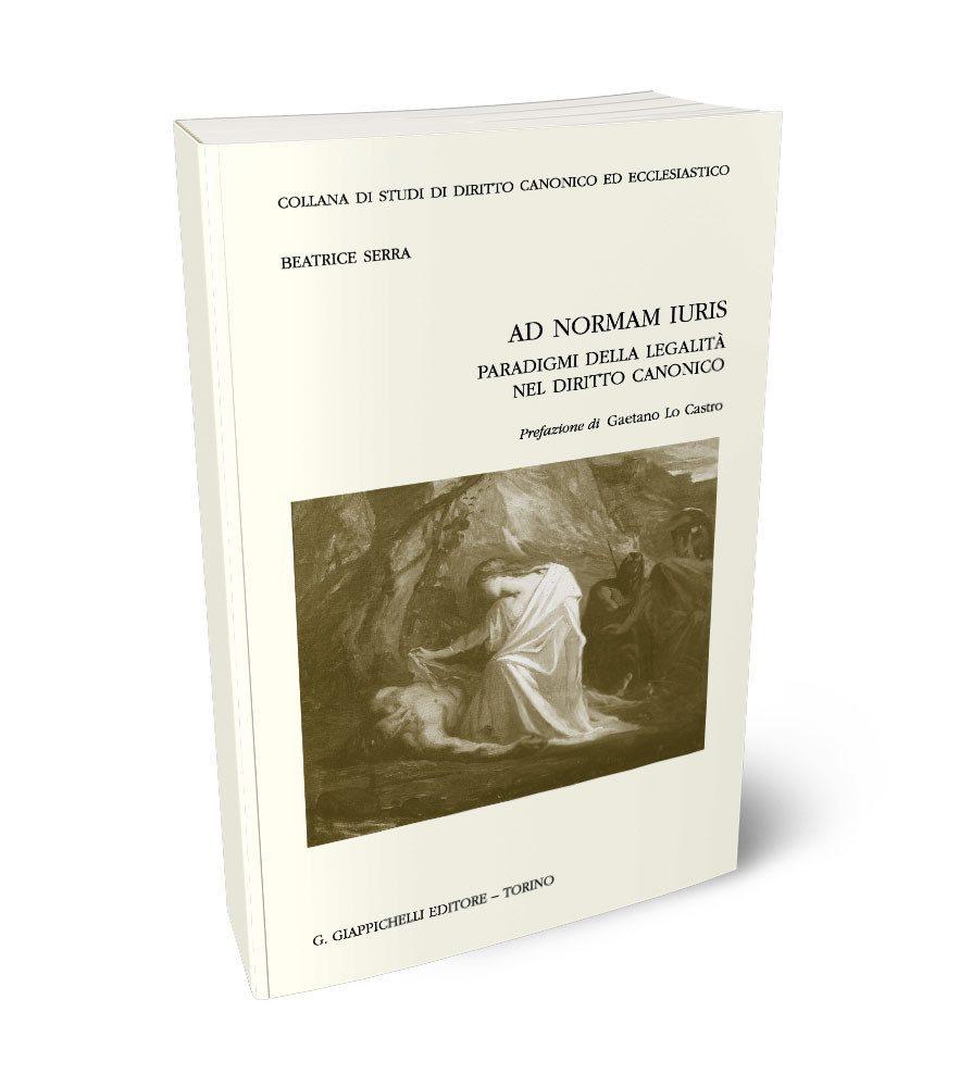 Studi di diritto canonico ed ecclesiastico  Sezione Canonistica